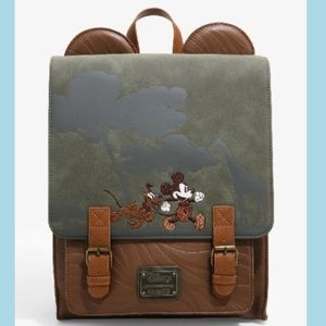 Loungefly Disney Mickey Mouse Safari backpack